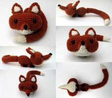 Fox Amigurumi Multishot by Poopycakes-makes