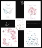 Thank You Card Selection by rustymermaid