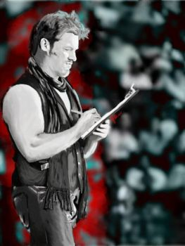 You just made the list! ~ Chris Jericho by Flluorescencyjna