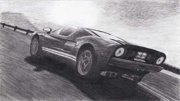 Ford GT by EmpErrorPenguin