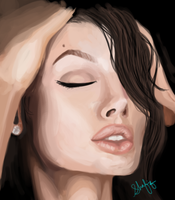 Angelina Jolie by shafiqsaya
