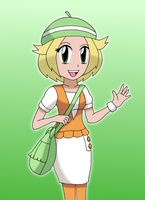 Bianca from Pokemon by sketchinnegro