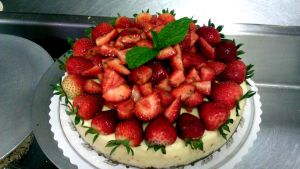 Strawberry Cheesecake by asthetiq