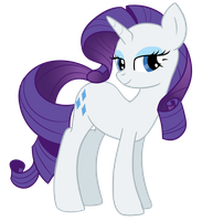 Rarity in canon style by DespotShy