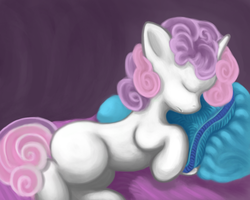 Sleepy sweetie-no magic by Dread555