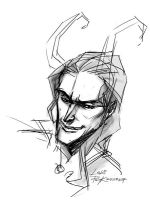 Sketchy Loki by PsychedelicMind