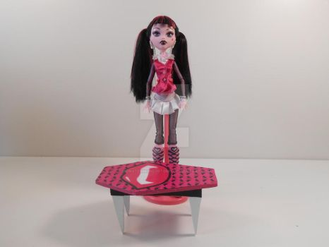Monster High Furniture - Vampire Fang Coffee Table by monsterminicustoms