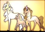 Adoptable horse herd - (8 points) by Adoptable-Horses-INC