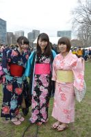 Japanese Festival,Dressed In Traditional Kimonos by Miss-Tbones