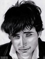 Tom Welling Portrait by telekinetick