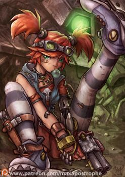 Gaige by Maxa-art