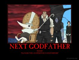 Soul Eater Excaliber Godfather by DragonStalker0713