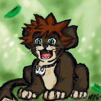Lion Cub Sora by mewmewpower