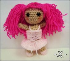 'Starla' Crochet Doll by EssHaych