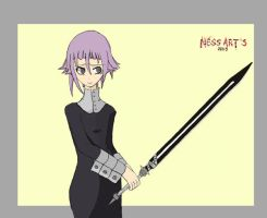 Crona. Soul Eater by Hecc