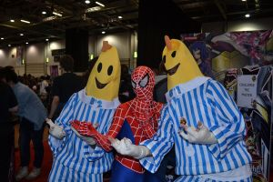 Cosplay - Bananas/Spidey by Art47