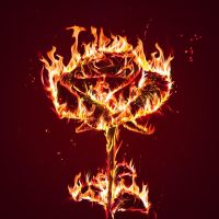 Photoshop Tutorial- Fire Flower by GrapicRiver