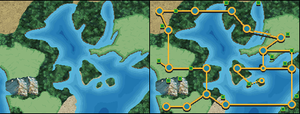 Valora region map 2 (With Routes) by Assassannerr