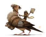 DAY 499. Sketch Dailies Challenge - Paperboy by Cryptid-Creations
