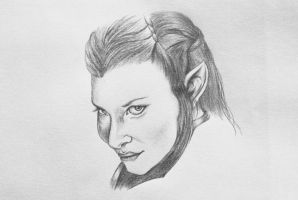 Tauriel by LuckyChance07