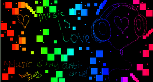 Music Is Love -Collab- by UniqueMelody