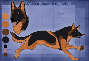 STS Dog - Eve RETIRED by ShockTherapyStables