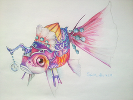 Perfect World goldfish by Spirit-Alu