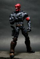 Custom Marvel Legends Red Skull 2 by lrcustoms