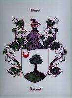 Wood Family Coat of Arms. by Broadshore