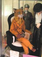 Mr Fox in his comfy couch by wolfjedisamuel
