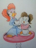 Me and My Sis! by RogersGirlRabbit