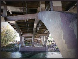 Under the Green Street bridge 8 by crimsonravenwarrior