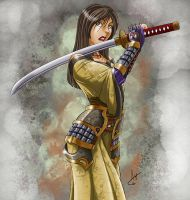 Samurai Female by Jackwrench