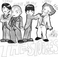 THE STOOGES by Princess-Kraehe