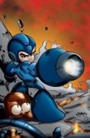 Megaman Tribute by MarcBourcier