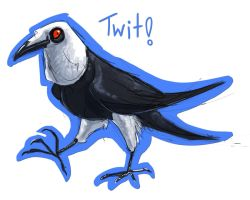 Twit the Raven by FablePaint