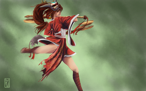 League of Legends, Akali by Mara-Elle