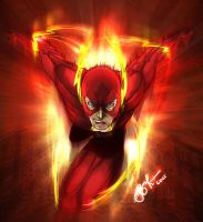 Flash Speed Force by gidge1201