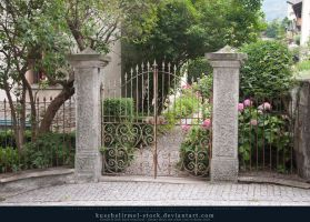 Gate in Switzerland by kuschelirmel-stock