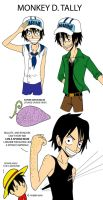 If Luffy had another brother.. by Disneyfreak007