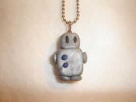Robot Necklace by kiddomerriweather