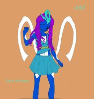 Sara Suicune :redesign: by SuicuneLuver