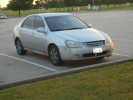 2005 Kia New Spectra EX [Beater] by TR0LLHAMMEREN