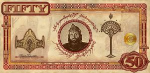 Lord of the Rings Currency Front by vectorgeek