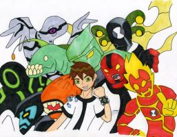 Ben 10 by TheAmazingLadyShoe