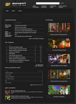 dosspot.com - updated design by niklas