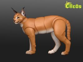 Caracal Bjd Doll 01 by leo3dmodels