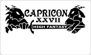 Capricon 27 Badge Art by bigblued