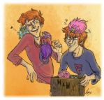 Twins and the Pygmypuffs by Alatariel-Amandil