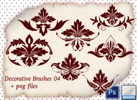 Decorative Brushes 04 by roula33
